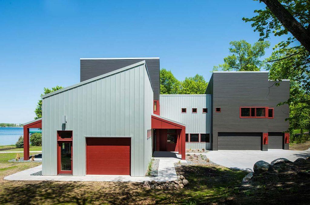 Modern shed radiant homes building homes of unmatched for Designer shed homes
