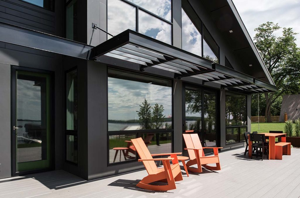Modern Lake Cottage Radiant Homes Building Homes of Unmatched