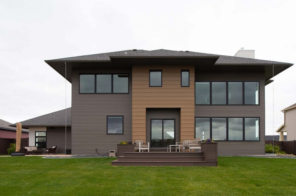 Modern prairie radiant homes building homes of for Nd home builders
