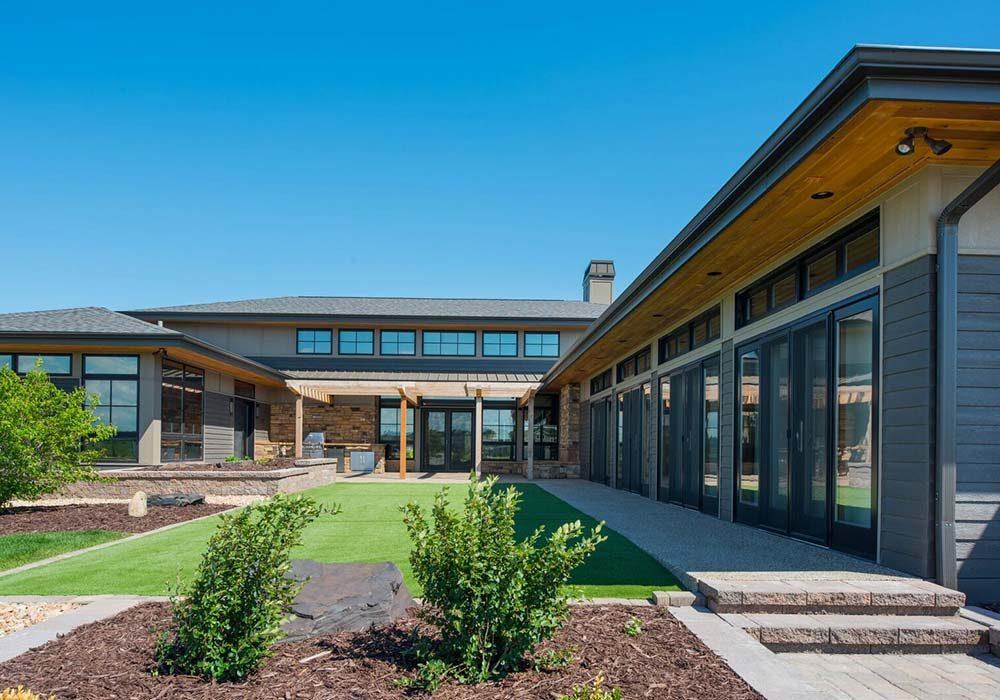 Prairie Natatorium Raidant Homes