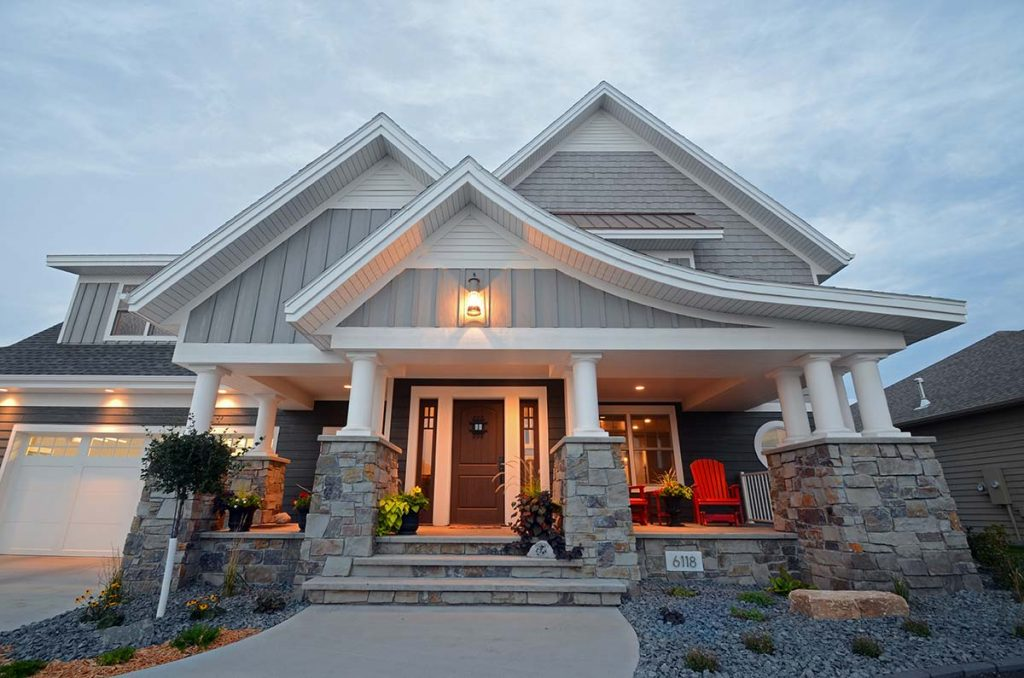 Elegant cape cod radiant homes building homes of for Cape cod style house
