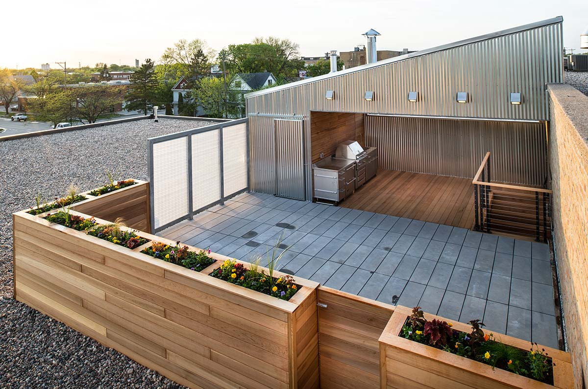 Rooftop Cabana Radiant Homes