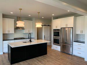Custom Rambler Home Kitchen in Fargo, ND
