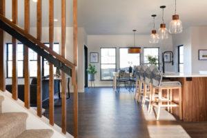 Custom Lake Home in Detroit Lakes, MN built by Custom Home Builder Radiant Homes