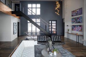 Open Floor Plan in Custom Home Fargo, ND