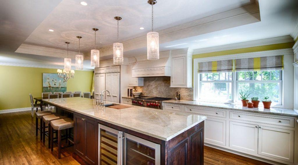 Custom Lighting in Radiant Homes Kitchen